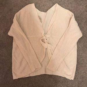 LOFT Plus Tie-Back Sweater *Like New*